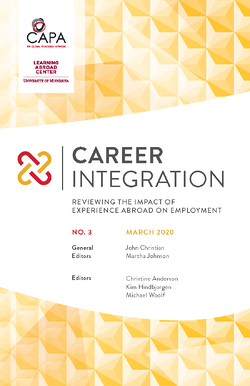 CAPA Career Integration Volume 3
